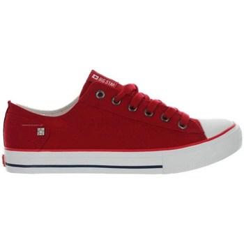 kengät Naiset Matalavartiset tennarit Big Star DD274339 Punainen