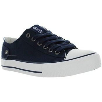 kengät Naiset Matalavartiset tennarit Big Star DD274335 Tummansininen