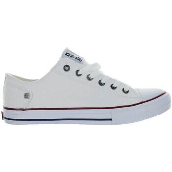 kengät Naiset Matalavartiset tennarit Big Star DD274336 Valkoiset