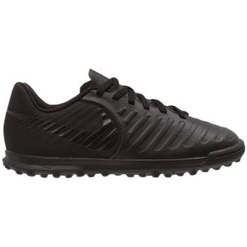 kengät Lapset Jalkapallokengät Nike JR Legend 7 Club TF Mustat