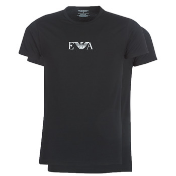 vaatteet Miehet Lyhythihainen t-paita Emporio Armani CC715-111267-07320 Black