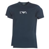 vaatteet Miehet Lyhythihainen t-paita Emporio Armani CC715-111267-27435 Laivastonsininen