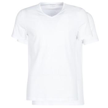vaatteet Miehet Lyhythihainen t-paita Emporio Armani CC722-111648-04710 White