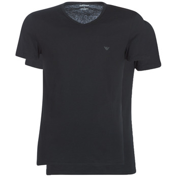 vaatteet Miehet Lyhythihainen t-paita Emporio Armani CC722-111648-07320 Black