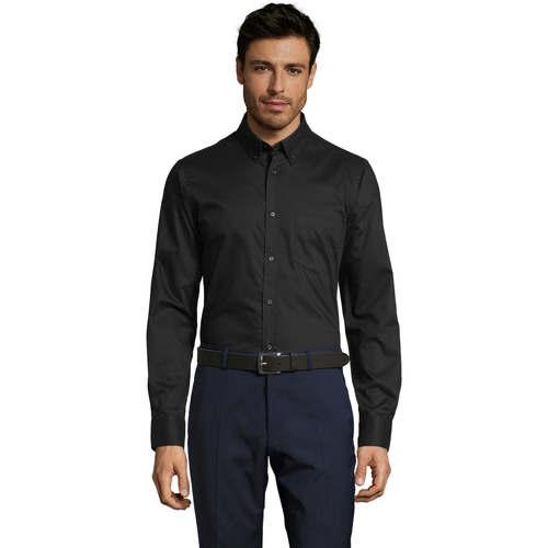 vaatteet Miehet Pitkähihainen paitapusero Sols BUSSINES MODERN MEN Negro