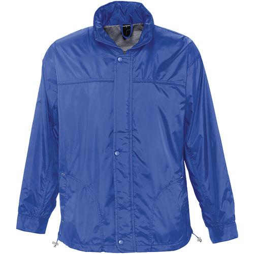 vaatteet Tuulitakit Sols MISTRAL HIDRO SWEATER Azul