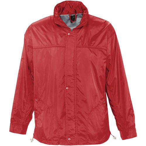 vaatteet Tuulitakit Sols MISTRAL HIDRO SWEATER Rojo