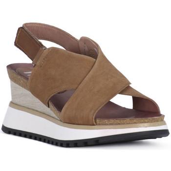 kengät Naiset Sandaalit ja avokkaat Mjus 102 SANDALO TARDE Beige