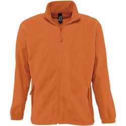 vaatteet Miehet Fleecet Sols NORTH POLAR MEN Naranja