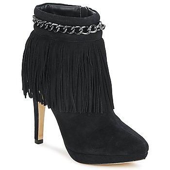 kengät Naiset Nilkkurit Bourne SANDY Black