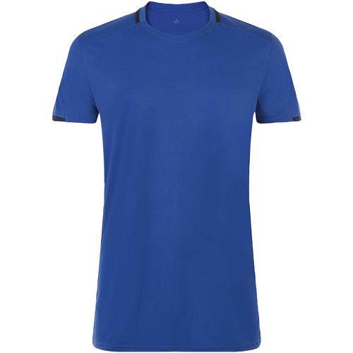 vaatteet Miehet Lyhythihainen t-paita Sols CLASSICO SPORT Azul