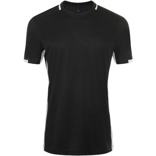 vaatteet Miehet Lyhythihainen t-paita Sols CLASSICO SPORT Negro