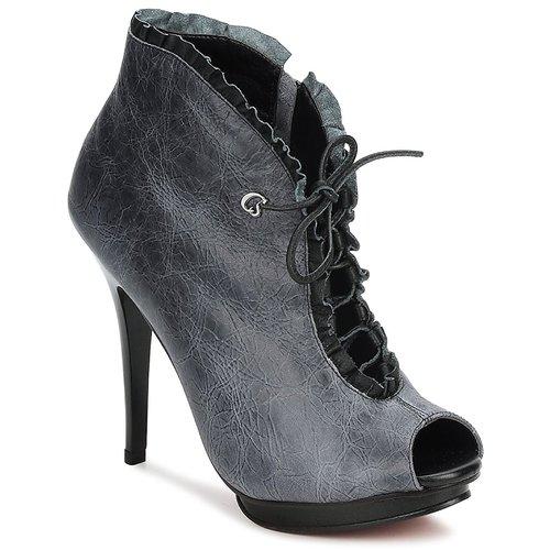kengät Naiset Nilkkurit Carmen Steffens 6002043001 Black / Grey