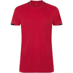 vaatteet Miehet Lyhythihainen t-paita Sols CLASSICO SPORT Rojo