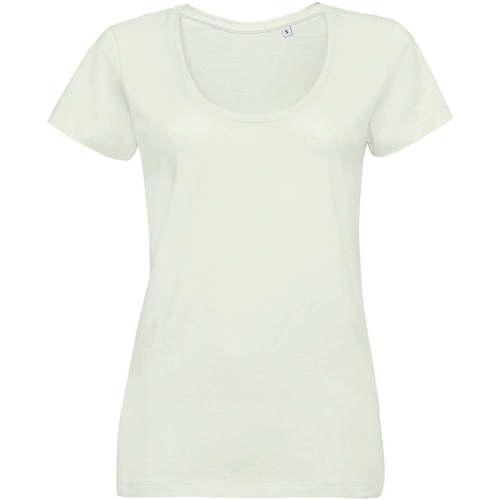 vaatteet Naiset Lyhythihainen t-paita Sols METROPOLITAN CITY GIRL Verde