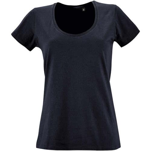 vaatteet Naiset Lyhythihainen t-paita Sols METROPOLITAN CITY GIRL Azul