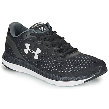 kengät Miehet Juoksukengät / Trail-kengät Under Armour CHARGED IMPULSE Black / White