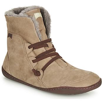 kengät Naiset Bootsit Camper PEU CAMI Beige