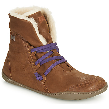 kengät Naiset Bootsit Camper PEU CAMI Ruskea