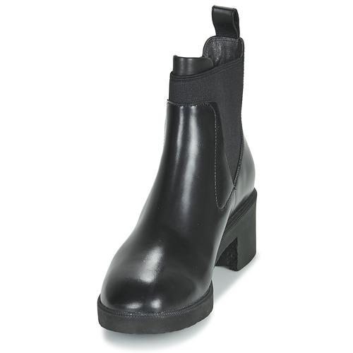 Camper Wonder Chelsea Black - Ilmainen Toimitus- Kengät Bootsit Naiset 117