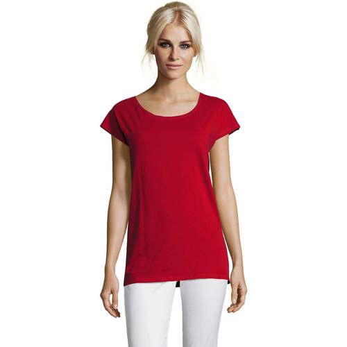 vaatteet Naiset Lyhythihainen t-paita Sols MARYLIN STYLE KIMONO Rojo