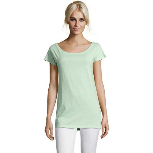 vaatteet Naiset Lyhythihainen t-paita Sols MARYLIN STYLE KIMONO Verde