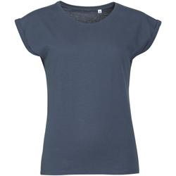 vaatteet Naiset Lyhythihainen t-paita Sols MELBA TROPICAL GIRL Azul