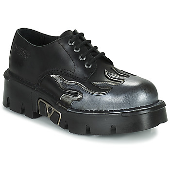 kengät Miehet Derby-kengät New Rock M-1553-C3 Black