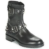 kengät Naiset Bootsit Tosca Blu GISELLE Black