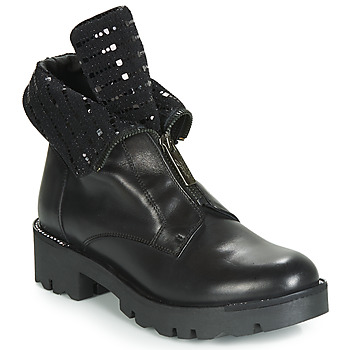 kengät Naiset Bootsit Tosca Blu DIANE Black