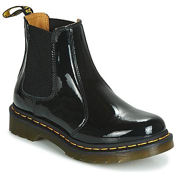 kengät Naiset Bootsit Dr Martens 2976 PATENT LAMPER Black