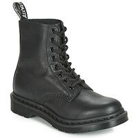 kengät Naiset Bootsit Dr Martens 1460 PASCAL MONO Black