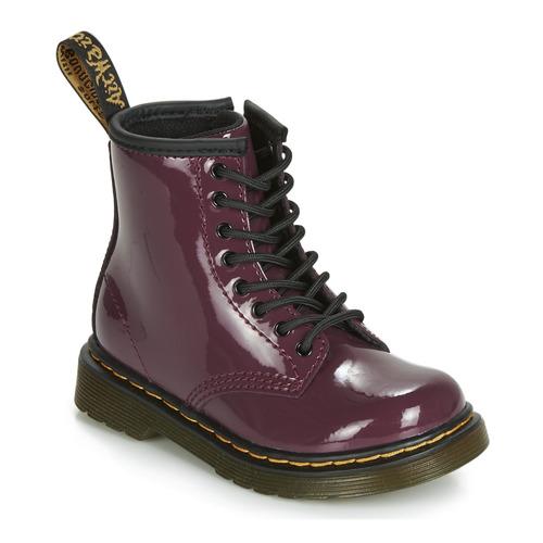 kengät Tytöt Bootsit Dr Martens 1460 PATENT TODDLER Violet