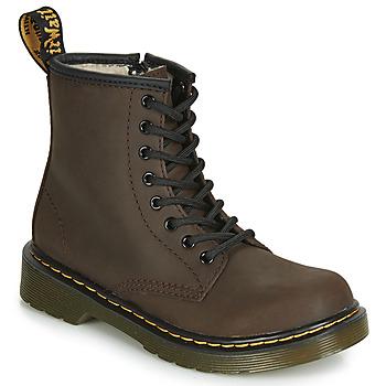 kengät Lapset Bootsit Dr Martens 1460 SERENA JUNIOR Brown