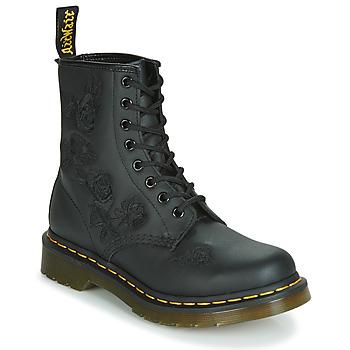 kengät Naiset Bootsit Dr Martens 1460 VONDA MONO SOFTY T Black
