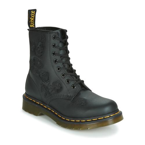 kengät Naiset Bootsit Dr Martens 1460 VONDA MONO SOFTY T Musta