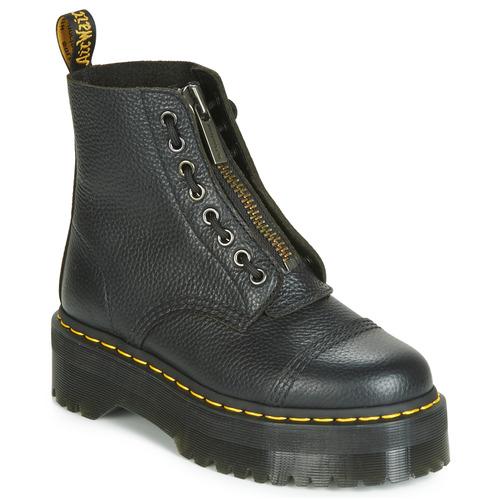 kengät Naiset Bootsit Dr Martens SINCLAIR AUNT SALLY Musta