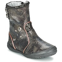 kengät Tytöt Saappaat Catimini CLABAUD Bronze / Black