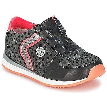 kengät Tytöt Bootsit Catimini CISTUDE Musta-fuksia / Dpf / 2637