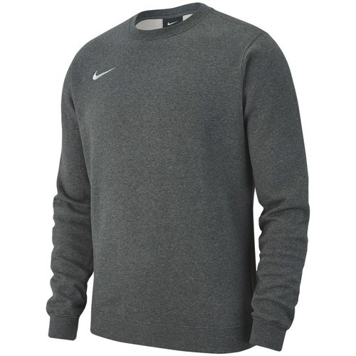 vaatteet Miehet Svetari Nike Team Club 19 Crew Fleece Harmaat