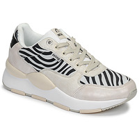 kengät Naiset Matalavartiset tennarit MTNG 69867-C47433 Black / White