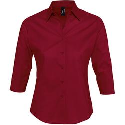 vaatteet Naiset Paitapusero / Kauluspaita Sols EFFECT ELEGANT Rojo