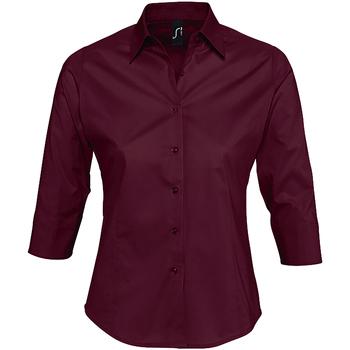 vaatteet Naiset Paitapusero / Kauluspaita Sols EFFECT ELEGANT violeta