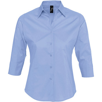 vaatteet Naiset Paitapusero / Kauluspaita Sols EFFECT ELEGANT Azul