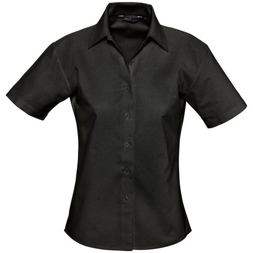 vaatteet Naiset Paitapusero / Kauluspaita Sols ELITE OXFORD Negro