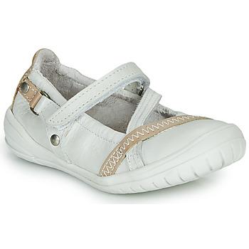 kengät Tytöt Balleriinat Ramdam BEZIERS White