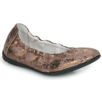 kengät Tytöt Balleriinat Ramdam LIBRE Bronze