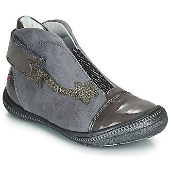 kengät Tytöt Bootsit GBB NOLWENN Grey / Hopea