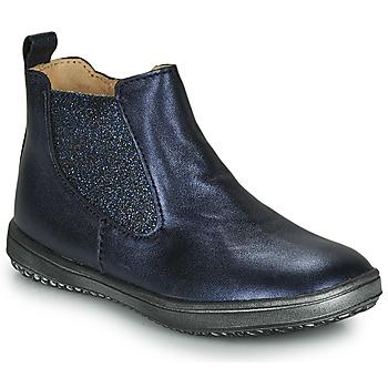kengät Tytöt Bootsit Achile SARA Laivastonsininen