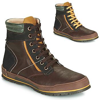 kengät Pojat Bootsit Achile MANUEL Ruskea